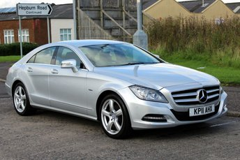2011 MERCEDES-BENZ CLS CLASS 3.0 CLS350 CDI BLUEEFFICIENCY 4d AUTO 265 BHP £13490.00