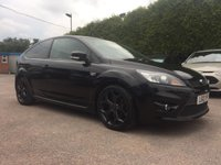 2010 FORD FOCUS 2.5 ST-3 3d 225 BHP FULL FORD HISTORY AND LEATHER  £SOLD