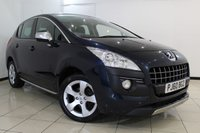 USED 2010 60 PEUGEOT 3008 1.6 EXCLUSIVE HDI 5DR 112 BHP FULL SERVICE HISTORY + CLIMATE CONTROL + PARKING SENSOR + PANORAMIC ROOF + CRUISE CONTROL + ALLOY WHEELS