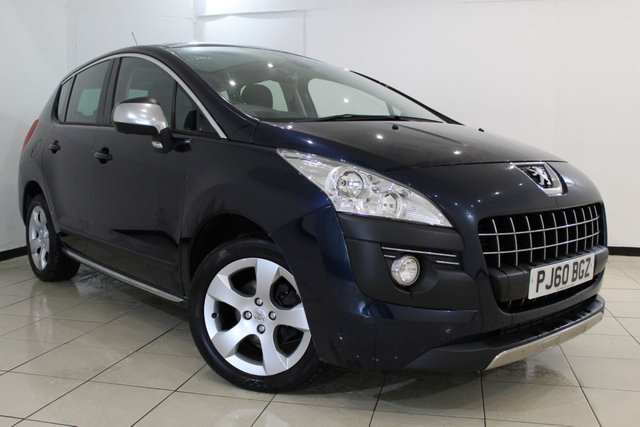 View our 2010 60 PEUGEOT 3008 1.6 EXCLUSIVE HDI 5DR 112 BHP