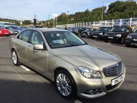 USED 2012 MERCEDES-BENZ C CLASS 2.1 C220 CDI BLUEEFFICIENCY ELEGANCE 4d 168 BHP Only 15,500 miles & immaculate. Leather & Sat Nav