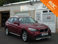 USED 2011 11 BMW X1 2.0 XDRIVE18D SE 5d 141 BHP Heated Seats , Bluetooth , Service history , Start/stop technology