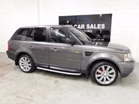 USED 2005 55 LAND ROVER RANGE ROVER SPORT 2.7 TDV6 S 5d AUTO 188 BHP