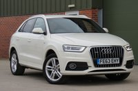 USED 2013 63 AUDI Q3 2.0 TDI QUATTRO S LINE 5d 138 BHP AA DEALER PROMISE, DRIVE AWAY TODAY