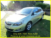 USED 2011 11 VAUXHALL ASTRA 2.0 SRI CDTI 5d AUTO 157 BHP +STUNNING 60k CAR WITH FSH+
