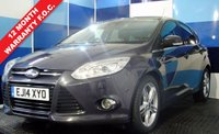 USED 2014 14 FORD FOCUS 1.6 TITANIUM X TDCI 5d 113 BHP A truly stunning example of this practical and very economical family hatchback .This car comes with a massive specification including satellite navigation ,park pilot all part of the driver assistance pack plus appearance and convenience pack one not to be missed  with half leather interior,  cruise control, heated seats, upgraded 17 inch alloy wheels, DAB radio and also voice control.