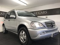 USED 2002 02 MERCEDES-BENZ M CLASS 2.7 ML270 CDI 5d AUTO 163 BHP