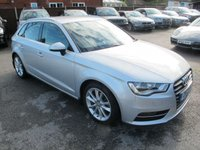 2013 AUDI A3 2.0 TDI SPORT 5d 148 BHP FULL HEATED LEATHER + NAV £12999.00