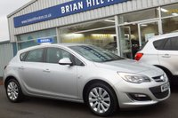"USED 2014 64 VAUXHALL ASTRA 1.6 ELITE 5dr  (113 bhp) .....ONE LADY OWNER, FULL VAUXHALL SERVICE HISTORY, FULL LEATHER, 17"" ALLOYS, CLIMATE CONTROL"