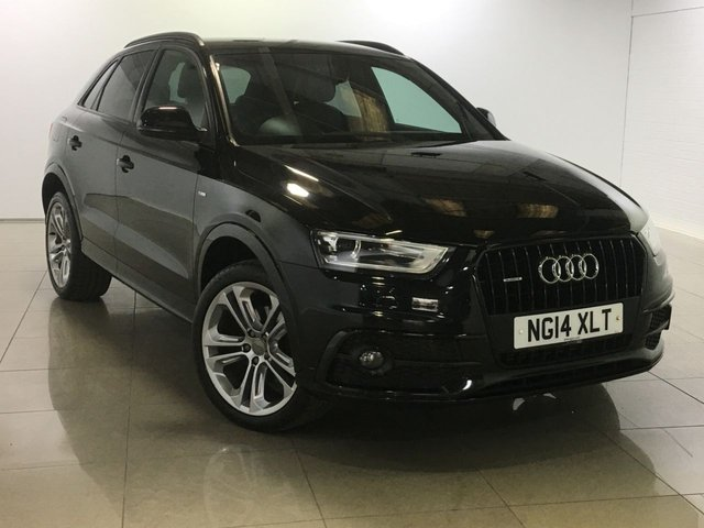 View our 2014 14 AUDI Q3 2.0 TDI QUATTRO S LINE PLUS 5d AUTO 177 BHP