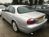 USED 2005 05 JAGUAR S-TYPE 2.7 V6 SPORT 4d AUTO 206 BHP