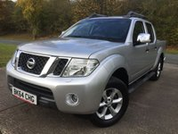 USED 2014 64 NISSAN NAVARA 2.5 DCI TEKNA 4X4 SHR DCB 1d 188 BHP LEATHER SIDE STEPS ONE OWNER FSH NO FINANCE REPAYMENTS FOR 2 MONTHS STC. COMMERCIAL (£12900+2580VAT). 4WD. STUNNING SILVER MET WITH FULL BLACK LEATHER TRIM. ELECTRIC HEATED SEATS, CRUISE CONTROL. AIR CON. SIDE STEPS. 17 INCH ALLOYS. COLOUR CODED TRIMS. PRIVACY GLASS. LOAD COVER. BLUETOOTH PREP. PAS. 6 SPEED MANUAL. MFSW. MOT 09/18. ONE OWNER FROM NEW. FULL SERVICE HISTORY. FCA FINANCE APPROVED DEALER. TEL 01937 849492