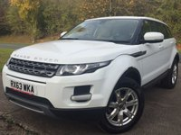 USED 2013 63 LAND ROVER RANGE ROVER EVOQUE 2.2 SD4 PURE 5d 190 BHP 4WD LEATHER CRUISE ONE OWNER FSH NO FINANCE REPAYMENTS FOR 2 MONTHS STC. 4WD. STUNNING WHITE WITH FULL BEIGE LEATHER TRIM. HEATED SEATS. CRUISE CONTROL. 18 INCH ALLOYS. COLOUR CODED TRIMS. PARKING SENSORS. BLUETOOTH PREP. AIR CON. MULTIMEDIA SYSTEM. R/CD/DAB RADIO. 6 SPEED MANUAL. MFSW. MOT 09/18. ONE OWNER FROM NEW. FULL SERVICE HISTORY. FCA FINANCE APPROVED DEALER. TEL 01937 849492