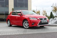 USED 2014 64 LEXUS CT 200H 1.8 200H ADVANCE 5d AUTO  ONLY 21K - FSH - SATNAV