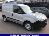 USED 2015 64 VAUXHALL COMBO VAN 1.2 2000 L1H1 CDTI 1d 90 BHP FSH-1 OWNER-PLY LINING-3 SEATS