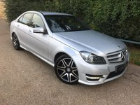 USED 2013 63 MERCEDES-BENZ C CLASS 2.1 C250 CDI BLUEEFFICIENCY AMG SPORT PLUS 4d AUTO 202 BHP Full Mercedes Service History! Clean Car, B-tooth, Parking Sensors!
