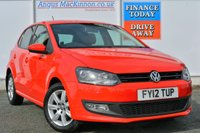 USED 2012 12 VOLKSWAGEN POLO 1.2 MATCH 5d 59 BHP COMPREHENSIVE SERVICE HISTORY