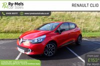 USED 2014 64 RENAULT CLIO 0.9 DYNAMIQUE MEDIANAV ENERGY TCE S/S 5d 90 BHP ONE OWNER, FULL SERVICE HISTORY