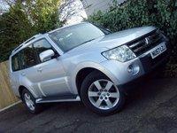 USED 2007 57 MITSUBISHI SHOGUN 3.2 GLS ELEGANCE LWB DI-D 5d AUTO 168 BHP