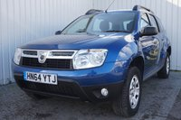 2014 DACIA DUSTER 1.5 AMBIANCE DCI 5d 107 BHP £6995.00