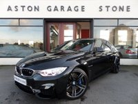 USED 2015 15 BMW M3 3.0 M3 4d AUTO 426 BHP ** HUD * CAMERAS * NAV ** ** HUD * RED LEATHER **