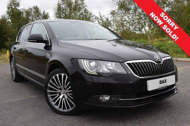 2014 14 SKODA SUPERB 2.0 LAURIN AND KLEMENT TDI CR 5d 139 BHP