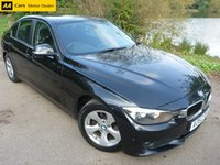 2013 BMW 3 SERIES 2.0 320D EFFICIENTDYNAMICS 4d 161 BHP £8600.00