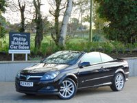 "USED 2006 VAUXHALL ASTRA 1.6 TWIN TOP SPORT 3d 100 BHP 17"" ALLOYS, METAL FOLDING ROOF, ELECTRIC MIRRORS"