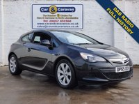 USED 2015 65 VAUXHALL ASTRA 1.4 GTC SPORT S/S 3d 118 BHP Full Service History DAB Radio 0% Deposit Finance Available