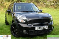 USED 2011 61 MINI COUNTRYMAN 2.0 COOPER SD ALL4 [141 BHP] 5 DOOR HATCHBACK [CHILI / MEDIA]