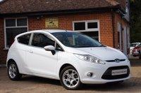 2012 FORD FIESTA 1.2 ZETEC 3d 79 BHP £6295.00