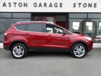 USED 2016 65 FORD KUGA 2.0 TITANIUM X SPORT TDCI 5d 177 BHP **LEATHER * PANROOF** ** SAT NAV * PAN ROOF * FSH **