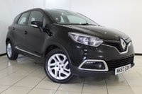 USED 2014 63 RENAULT CAPTUR 0.9 DYNAMIQUE MEDIANAV ENERGY TCE S/S 5DR 90 BHP SAT NAVIGATION + BLUETOOTH + CRUISE CONTROL + MULTI FUNCTION WHEEL + AIR CONDITIONING + 17 INCH ALLOY WHEELS