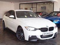 USED 2013 13 BMW 3 SERIES 2.0 320D M SPORT 4d 181 BHP M PERFORMANCE PACK+H-LTHR+NAV