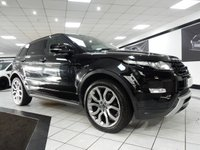 USED 2013 13 LAND ROVER RANGE ROVER EVOQUE 2.2 SD4 DYNAMIC LUX AUTO 190 BHP FSH PAN ROOF NAV 360 CAMERAS