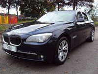 USED 2011 11 BMW 7 SERIES 3.0 740D LUXURY CAR 4d AUTO 302BHP 70000 NEW+HISTORY+2KEYS+SATNAV