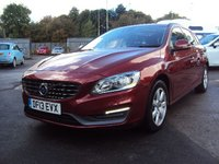 2013 VOLVO V60 2.0 D3 BUSINESS EDITION 5d 134BHP £6990.00