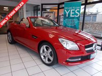 2013 MERCEDES-BENZ SLK 1.8 SLK200 BLUEEFFICIENCY 2d 184 BHP £18495.00