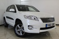 USED 2012 62 TOYOTA RAV4 2.2 XT-R D-4D 5DR 150 BHP FULL SERVICE HISTORY + HEATED HALF LEATHER SEATS + CLIMATE CONTROL + REVERSE CAMERA + BLUETOOTH + CRUISE CONTROL + MULTI FUNCTION WHEEL + 18 INCH ALLOY WHEELS