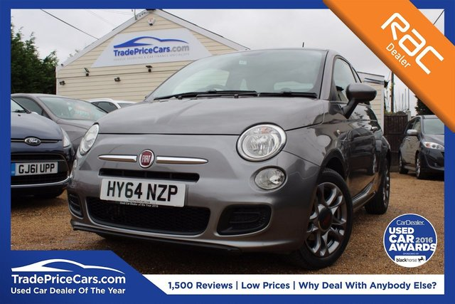 View our 2014 64 FIAT 500 0.9 TWINAIR S 3d 85 BHP