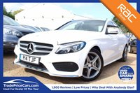 USED 2016 16 MERCEDES-BENZ C-CLASS 2.1 C220 D AMG LINE 4d AUTO 170 BHP Bluetooth, Heated Seats, ParkingAid