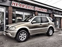 USED 2003 53 MERCEDES-BENZ M CLASS 2.7 ML270 CDI 5d AUTO 163 BHP