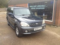 USED 2004 04 HYUNDAI TERRACAN 2.9 CDX CRTD 5d 161 BHP 4X4 LONG WHEEL BASE IN BLUE AND GREY APPROVED CARS ARE PLEASED TO OFFER THIS  HYUNDAI TERRACAN 2.9 CDX CRTD 5 DOOR 161 BHP 4X4 LONG WHEEL BASE IN BLUE WITH GREY SIDE MOULDINGS,THIS 4X4 IS IN GREAT SHAPE WITH A FULL SERVICE HISTORY SERVICED AT 9K,21K,28K,33K,48K,62K,78K,(INCLUDING CAM BELT AND WATER PUMP) 83K AND 94K A GREAT 4X4 IN GREAT CONDITION AND VERY RARE.