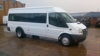 USED 2007 57 FORD TRANSIT 2.4 11 STR MINIBUS 100BHP 1d 100 BHP WITH WHEELCHAIR LIFT ////