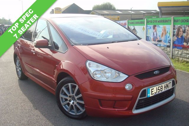 2009 58 FORD S-MAX 2.0 TITANIUM TDCI 5d AUTO 140 BHP FULL LEATHER