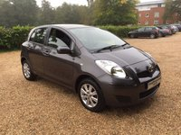 USED 2009 59 TOYOTA YARIS 1.3 TR VVT-I 5d 99 BHP Nice Miles, Low Insurance Group, 1 Owner