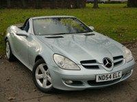 2004 MERCEDES-BENZ SLK 1.8 SLK200 KOMPRESSOR 2d AUTO 161 BHP £SOLD