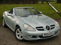 2004 MERCEDES-BENZ SLK 1.8 SLK200 KOMPRESSOR 2d AUTO 161 BHP £6750.00