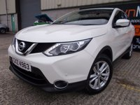 USED 2014 NISSAN QASHQAI 1.5 DCI ACENTA SMART VISION 5d 108 BHP Superb Order, One Owner, FSH, No Fee Finance Available, No Deposit Necessary