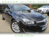 USED 2015 15 VAUXHALL INSIGNIA 2.0 ELITE NAV CDTI ECOFLEX S/S 5d 118 BHP ONE OWNER, LEATHER, HEATED FRONT SEATS, SAT NAV, CRUISE CONTROL, PARKING SENSORS, FULL SERVICE HISTORY, SPARE KEY